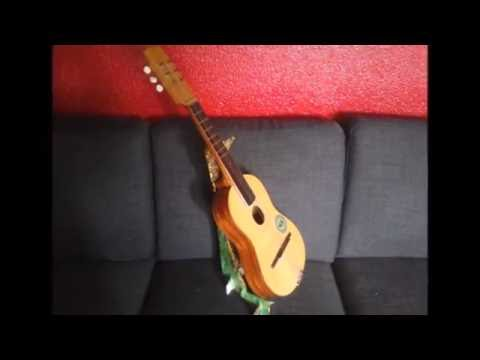 Bevorzugt Support à guitare en carton - YouTube DE52