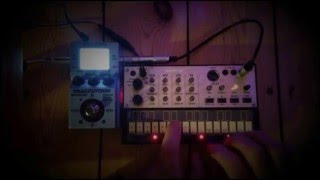 Volca Keys Ambient Pads No 4 with Zoom MS-70CDR