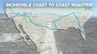 How we drove COAST TO COAST for $350 - How to Road Trip