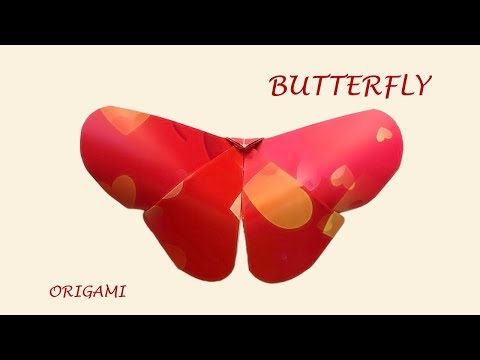 Butterfly combines light craft and easy origami for Fun DIY