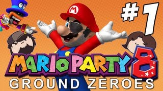Mario Party 8 Ground Zeroes: Haunted Hideaway - PART 1 - Game Grumps VS