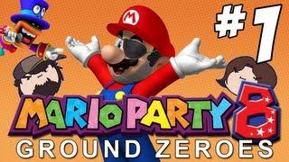 Mario Party 8 Ground Zeroes: Haunted Hideaway - PART 1 - Game Grumps VS