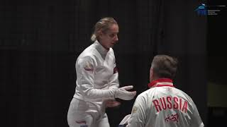 #2 Tallinn Women's Epee World Cup 2019 Final Highlights