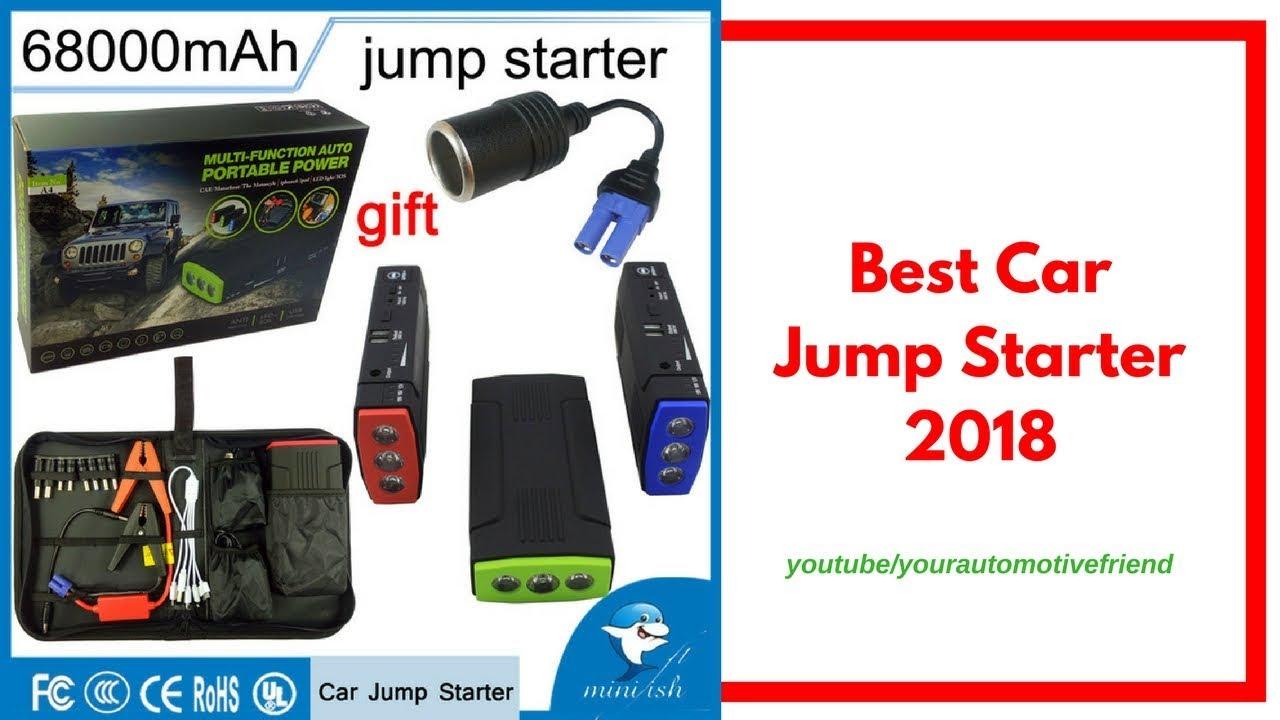 Best Car Jump Starter 2018