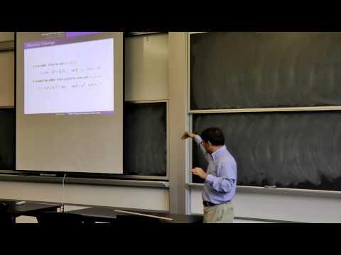 Recent progress in Grobner bases, by Prof Shuhong Gao, talk on 2013-10-16, part 1