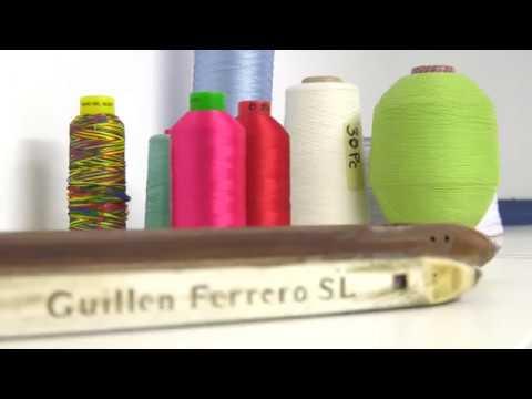 A Guillen Ferrero tem mais de 25 anos de experiência e ampla gama de tecidos.