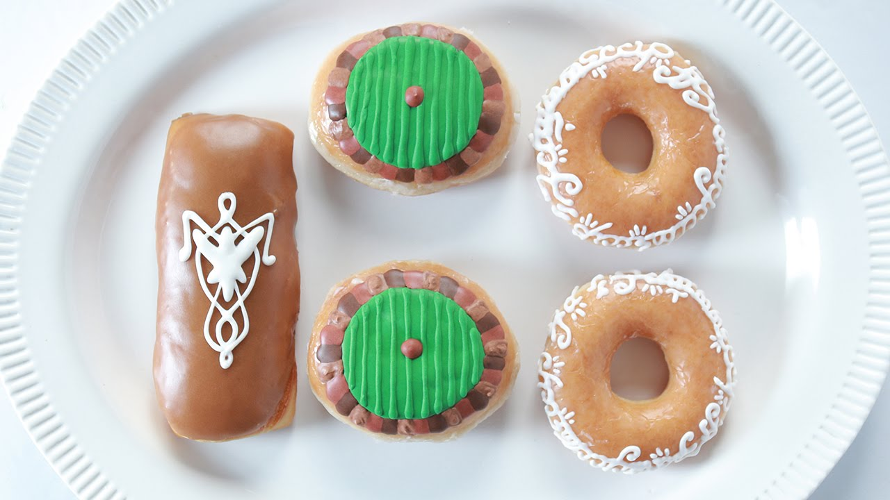 Lord Of The Rings Donuts Nerdy Nummies Youtube