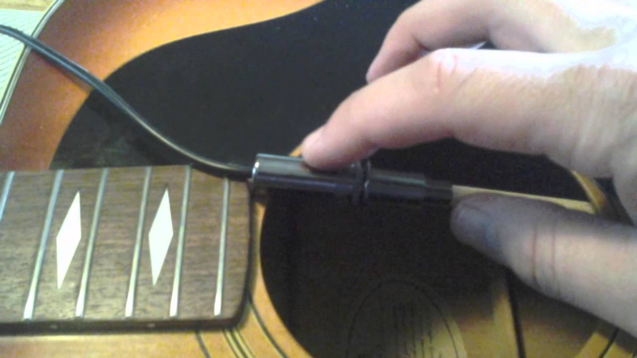 L.R. Baggs m1a acoustic pickup installation tips - YouTube