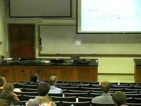 UTK Chemistry 501 Seminar -  Dr. Richard Jordan