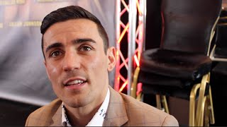 WBA WORLD CHAMPION ANTHONY CROLLA ON BARROSO, TERRY FLANAGAN & AMIR KHAN v SAUL 'CANELO' ALVAREZ