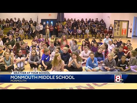 Weather At Your School: Monmouth Middle School
