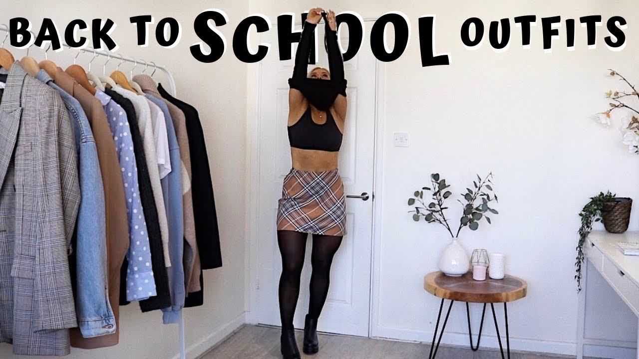 BACK TO SCHOOL OUTFIT IDEAS 2019 | TOPSHOP | ZARA | KOI FOOTWEAR | AD 7