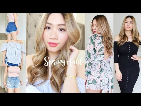 Fashion Nova Spring Haul 2017 | HAUSOFCOLOR