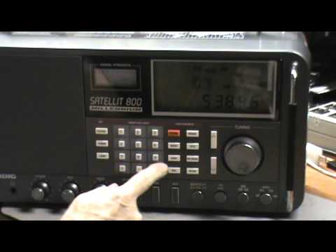 TRRS #0718 - Grundig Satellit 800, Band Scanning