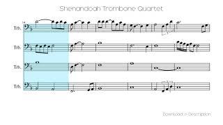 🎶 Shenandoah Trombone Quartet 🎸🎸