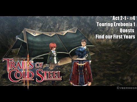 The Legend of Heroes - Trails of Cold Steel II - Act 2-1 - Find our First years