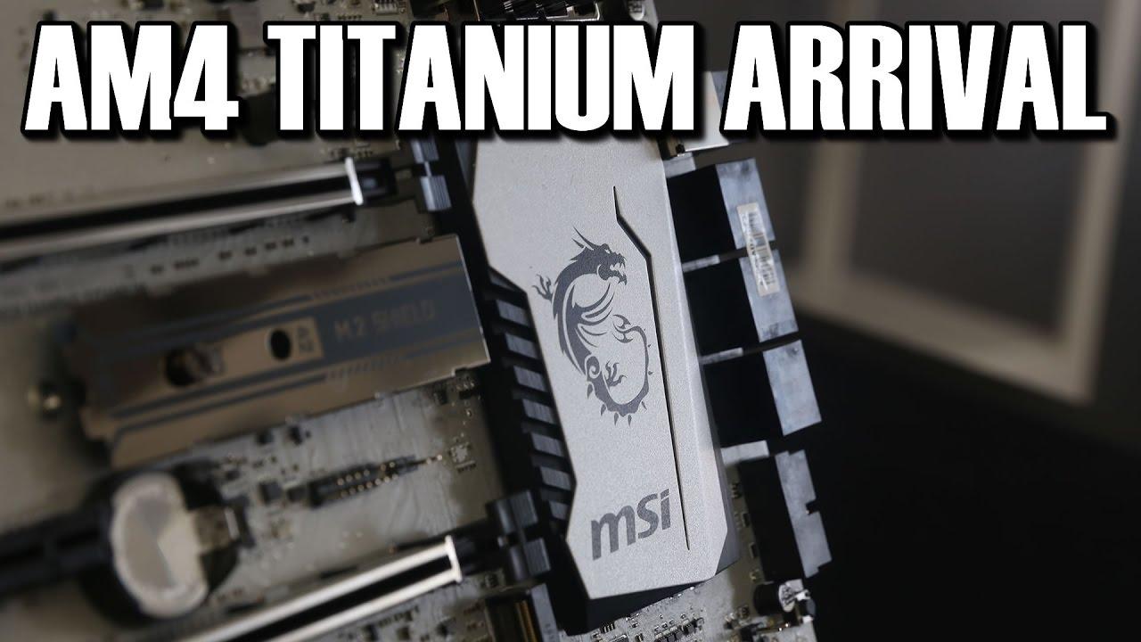 MSI Ryzen X370 XPOWER Gaming Titanium Review | Introduction