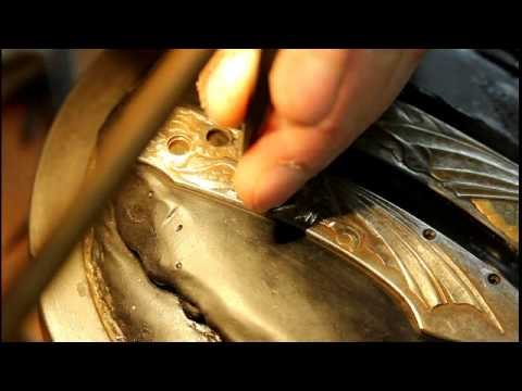 Carving Dragon Knife Handles for William Henry Knives