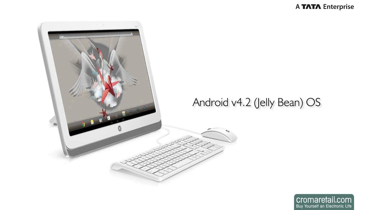 """HP Slate 21-k100 21.5"""" All-in-One Desktop"""