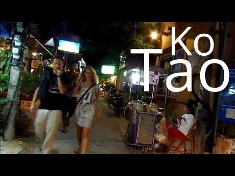 Nightlife on KO TAO Island, Thailand