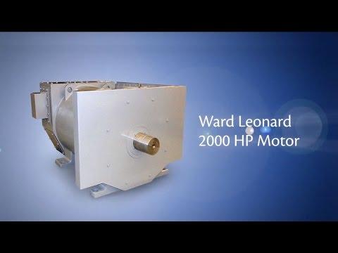 Ward Leonard 2,000 HP AC Induction Motor Video