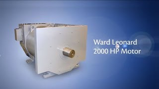 Ward Leonard 2,000 HP AC Induction Motor Video