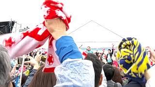 2019/03/03 淀川河川敷で行われた #寛平マラソン にて #ファンキー加藤 ...