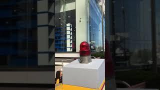 BMW 자동차 백화점 해운대점 경광전기 이중식 출차주의…