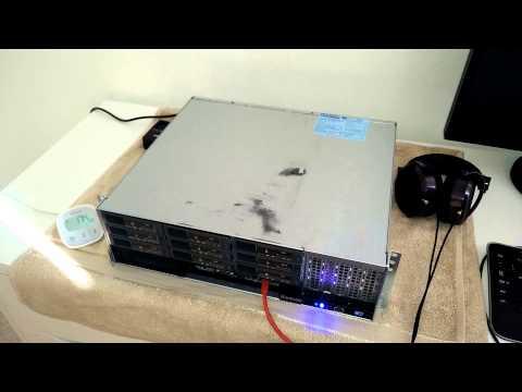 Rackable systems - fan noise / power draw