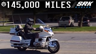 Honda Goldwing Aspencade Test Drive
