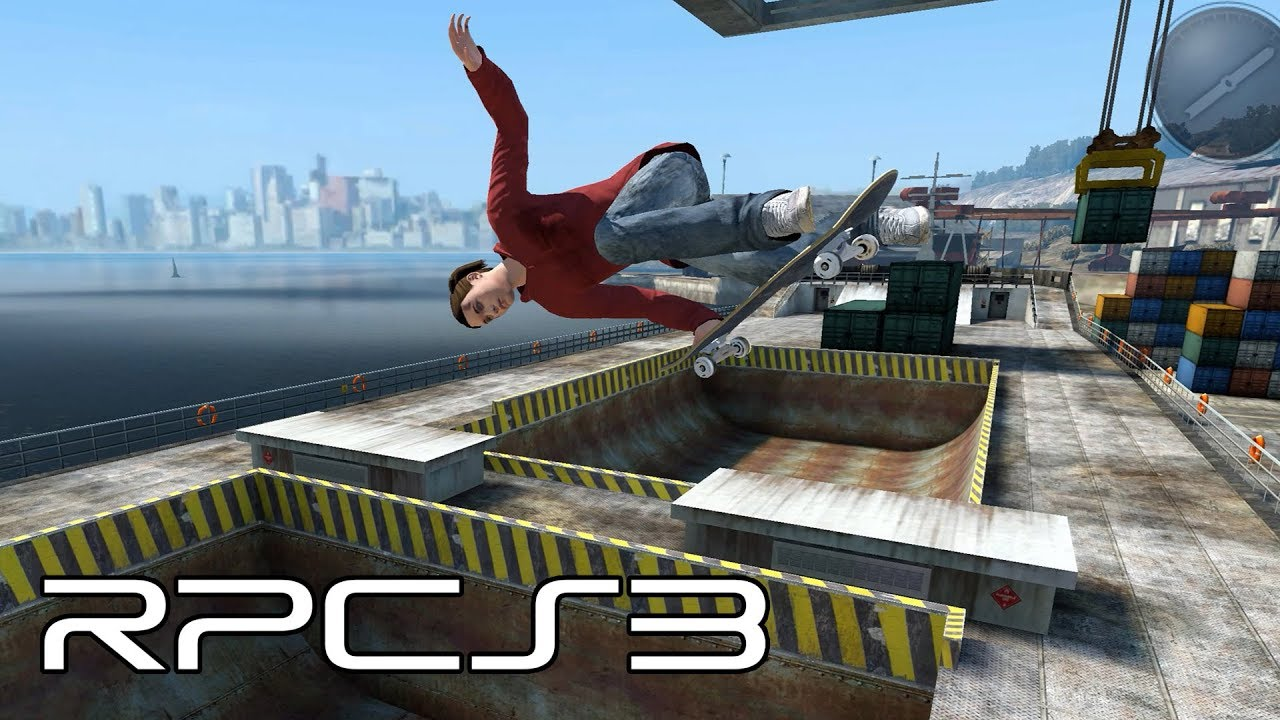RPCS3 - Skate 3 Now Playable! (4K Gameplay)