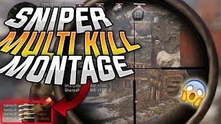 Call of Duty WW2 Top Sniper Multikills -- Crazy Triple Collateralls & INSANE AIM! (SamitoFPS)