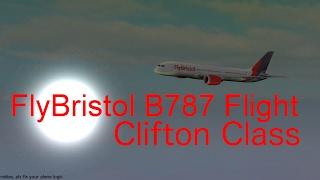 Roblox - FlyBristol B787 Flight - Clifton Class