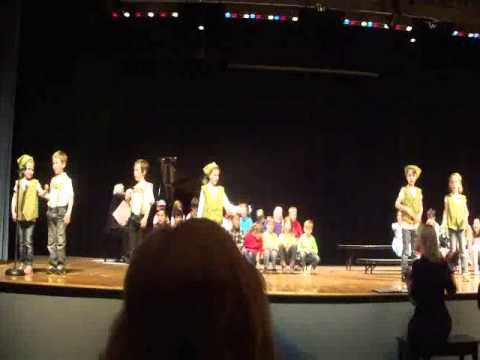 Theos Kindergarten Production:  So Long, Farewell Song