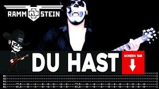 Video Rammstein - Du Hast (Guitar Cover by Masuka W/Tab) download MP3, 3GP, MP4, WEBM, AVI, FLV September 2018