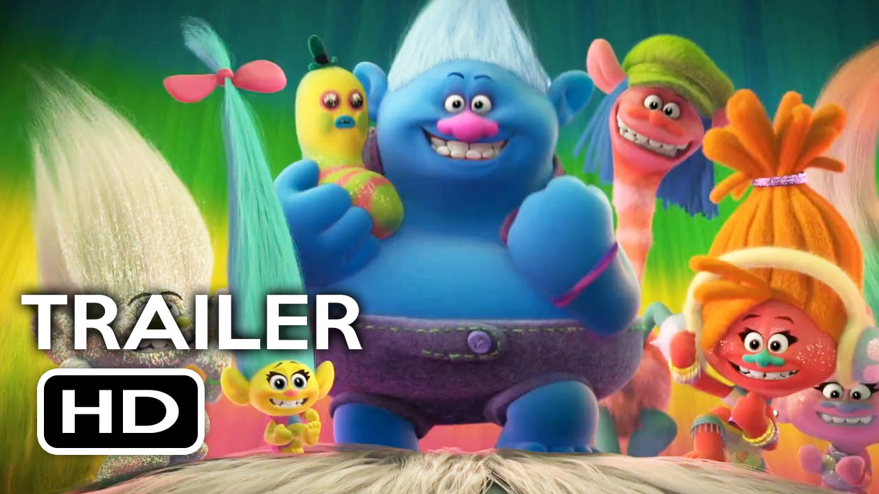 Trolls official trailer 1 2016 justin timberlake anna kendrick animated movie hd youtube