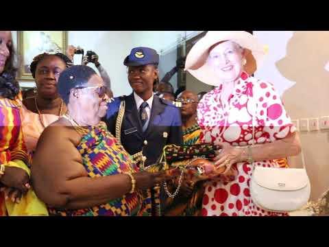 DENMARK QUEEN VISITS AKWAMU IN GHANA
