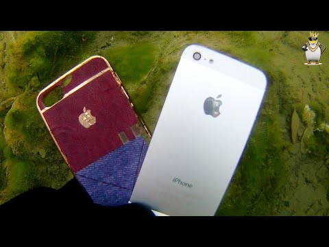 Nehirde iphone ve galaxy s8 buldum (ı found iphone samsung s8 plus river treasure
