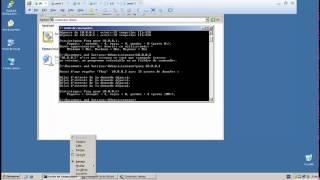 TP windows :partie 7 l'ajout du protocol RIP au DC,R1,R2 et le ping