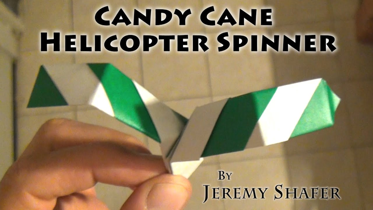 candy cane helicopter spinner youtube