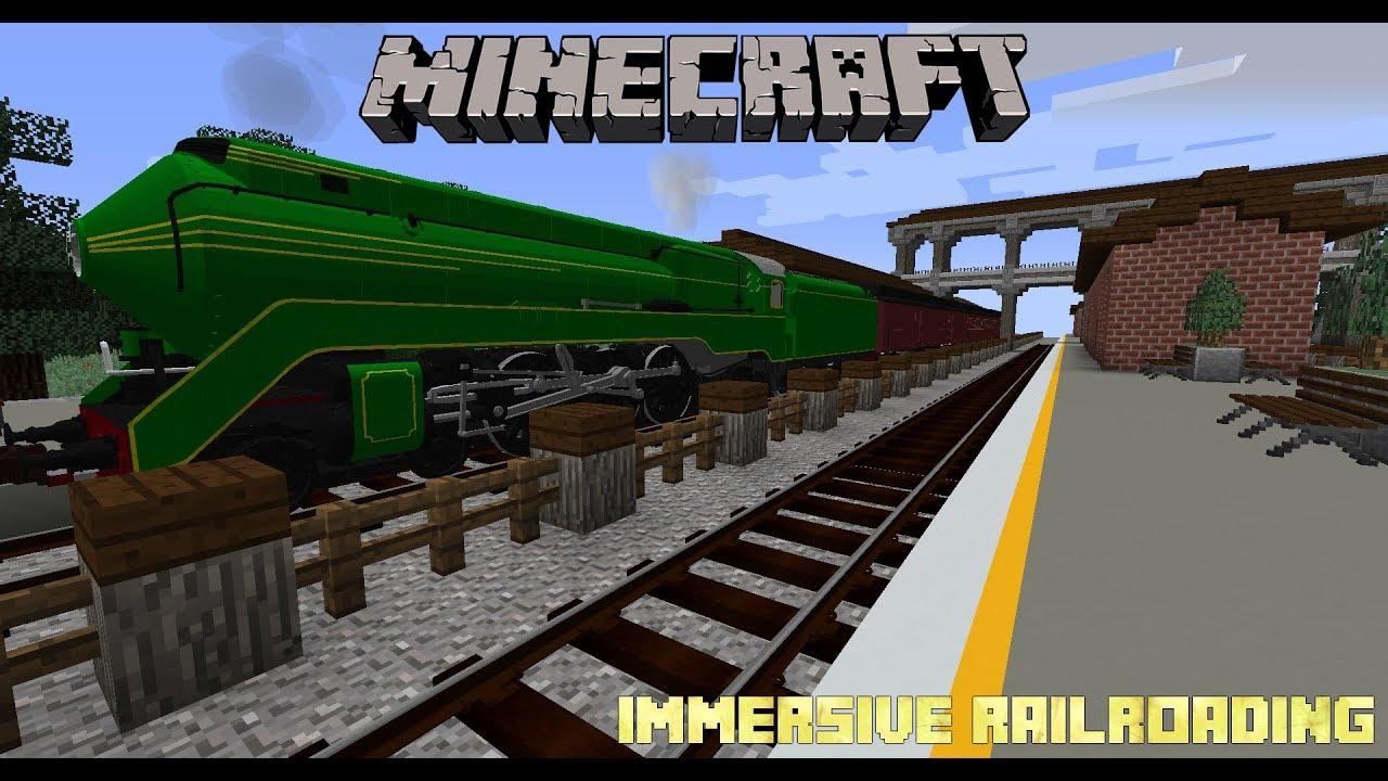 Minecraft - Immersive Railroading - Second Teaser