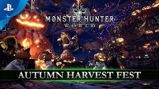 Monster Hunter: World - Autumn Harvest Fest | PS4