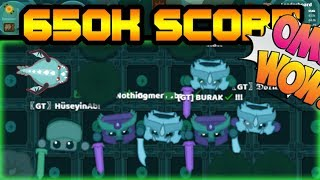 STARVE.IO - 650K SCORE // KILLING 700K PLAYER // DRAG GEAR TEAM