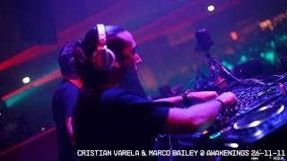Cristian Varela & Marco Bailey @ Awakenings 26-11-11 Gashouder Amsterdam