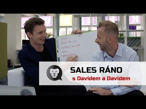 SALES RÁNO s Davidem a Davidem - Metodiky prodeje