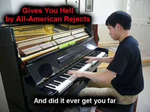 Gives You Hell - All-American Rejects (Piano)