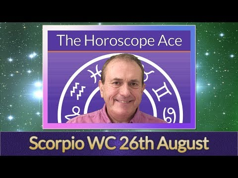Repeat Scorpio Horoscope Week of 26th August 2019 - Could