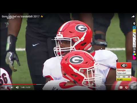Sony Michel v. Vanderbilt Film Breakdown