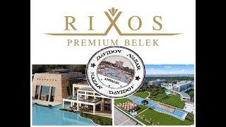 Обзор отеля Риксос в Белеке  // Цены на проживание // Rixos Premium Belek  // #NazarDavydov