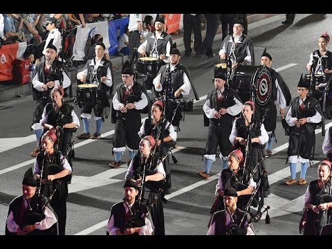 Opening Ceremony of Shanghai Tourism Festival, 2015 - Spanish Pipe Band
